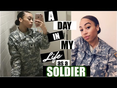 A DAY IN MY LIFE AS A SOLDIER + MY BIRTHDAY VLOG