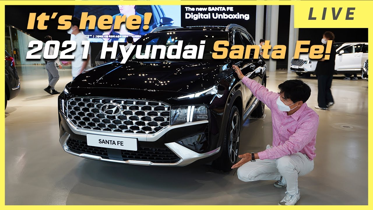 [World Premiere] 2021 Hyundai Santa Fe is HERE! Is it better than all new Kia Sorento?