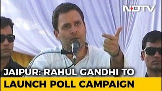 Rahul Gandhi To Launch Congress Campaign In Poll-Bound Rajasthan Today