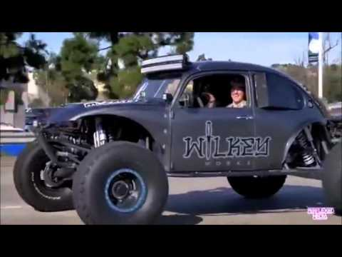 off road buggy tearing up the streets of socal.
