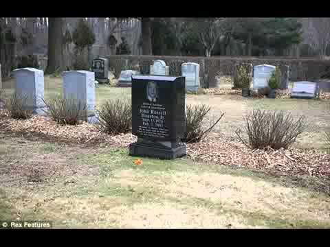 whitney houston is buried next to father youtube