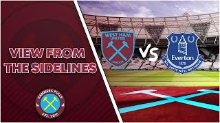 West Ham vs Everton Preview |View From The Sidelines| Hammers Polls