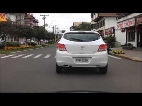Brazilian Highway Driving 11 - Bossa Nova (driving through the town of Nova Petropolis)