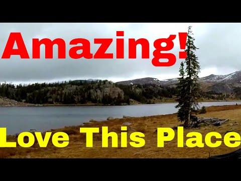 Living in a van traveling to Yellowstone National Park & Red Lodge MT Van Life On The Road