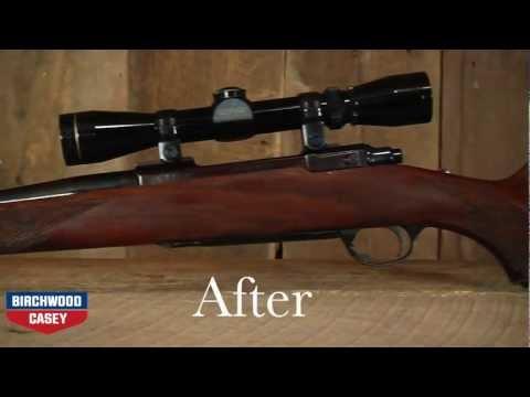 How to Refinish a Gun Stock with Birchwood Casey's Tru-Oil Gun Stock Finish Kit