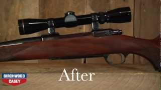 How to Refinish a Gun Stock with Birchwood Casey's Tru-Oil Gun Stock Finish Kit