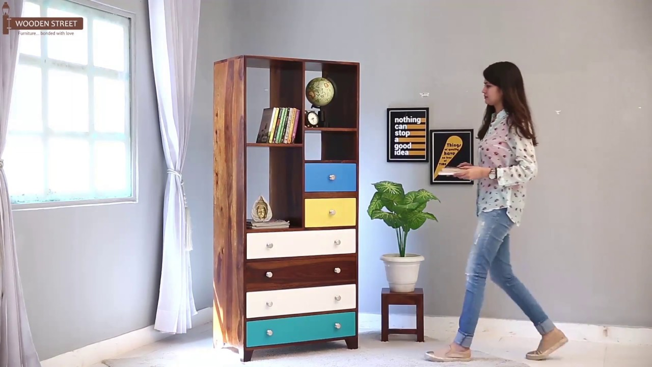 Bookshelf Buy Hammons Honey Finish Online
