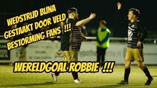 Bankzitters tegelijk in het veld chaos? Robbie scoort wereld goal, wedstrijd gestaakt door invasie?
