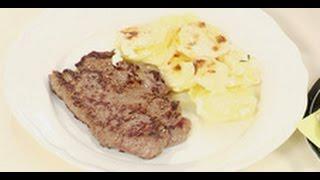 Стейк из говядины рецепт от шеф-повара / Илья Лазерсон