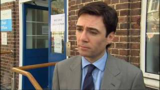 Swine flu: Health Secretary Andy Burnham on UK plan