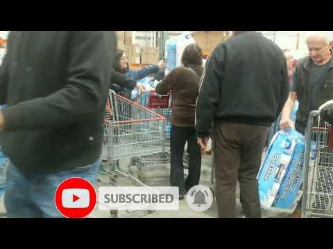Panic Buying Of Toilet Paper At Costco Edmonton, Alberta | Buhay Canada