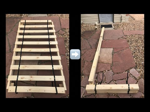 DIY Collapsible Bed *Project Lectulo*