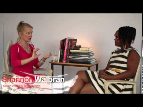 Shannon Walbran, South Africa's top psychic, Q&A on job satisfaction