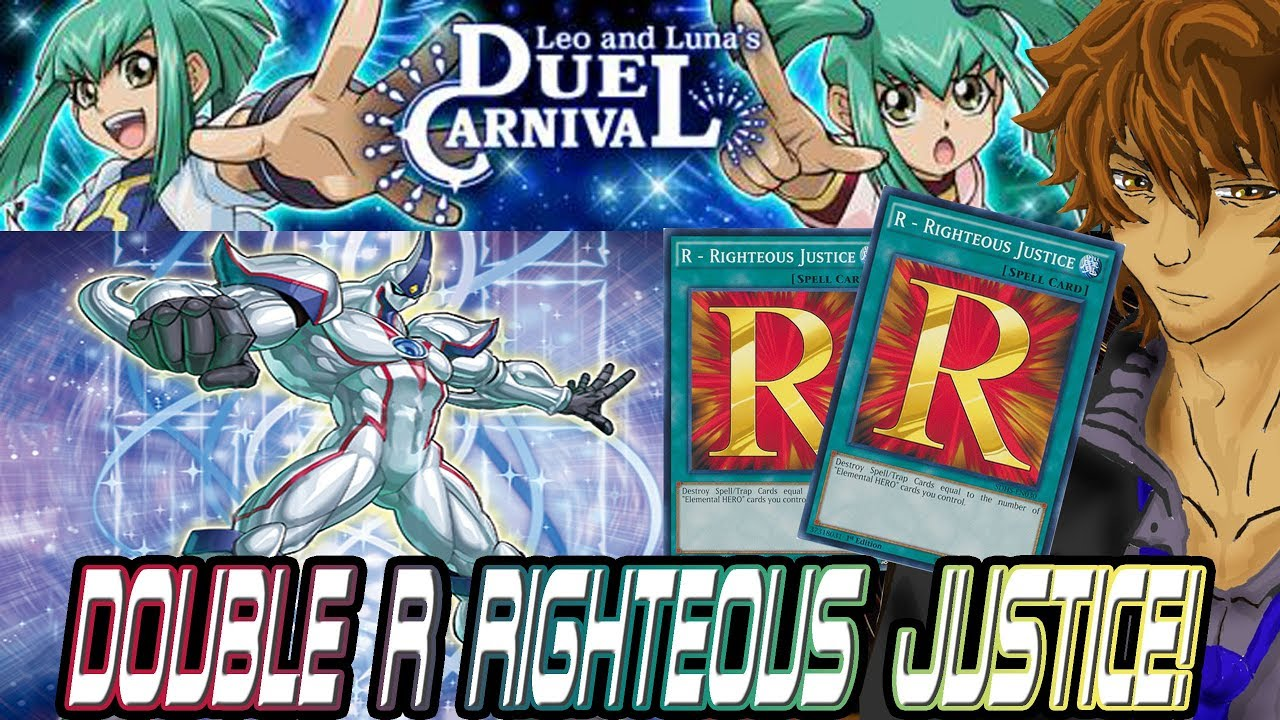 DOUBLE R RIGHTEOUS JUSTICE! NEW EVENT LEO AND LUNA'S DUEL CARNIVAL! |  YuGiOh Duel Links