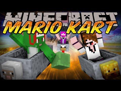 Minecraft Mini-Game : MARIO KART w/ Deadlox & Kkcomics!