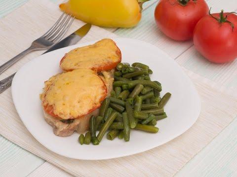 Свинина с помидорами и сыром - блюдо замечательное, вкусное и питательное