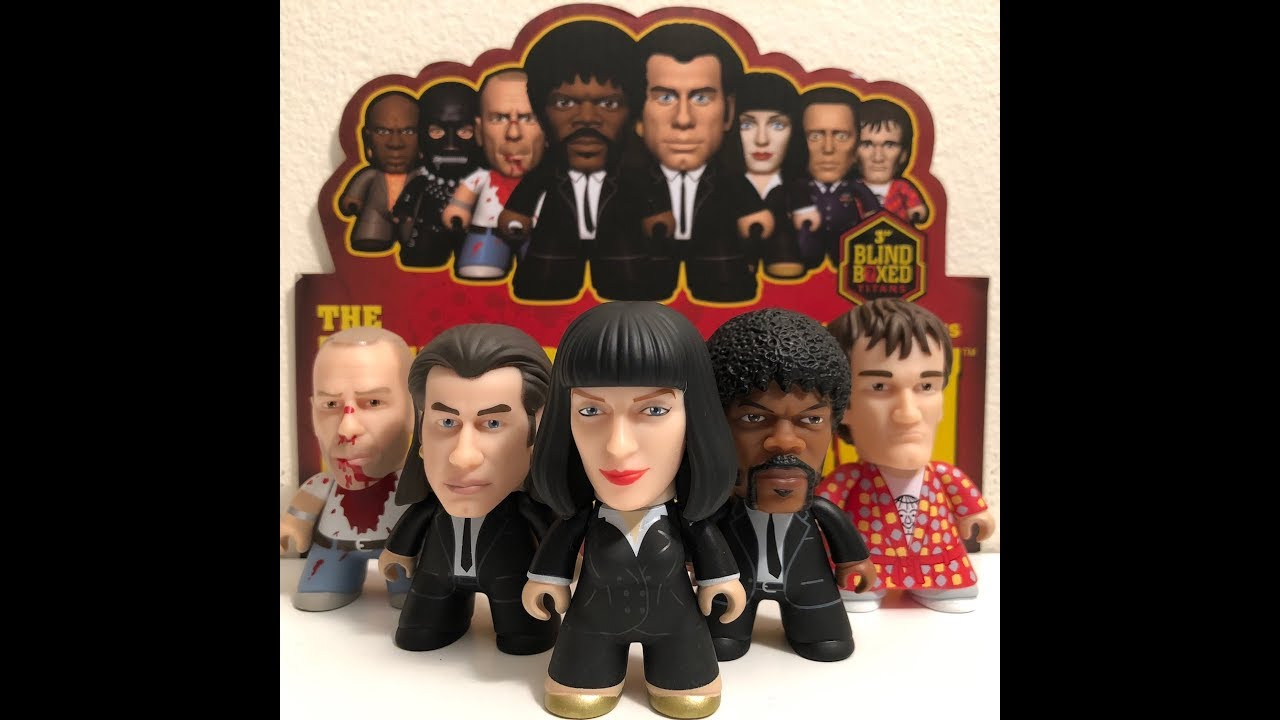 "Butch Coolidge 13/"" Talking Action Figure Pulp Fiction Beeline Creative Free"