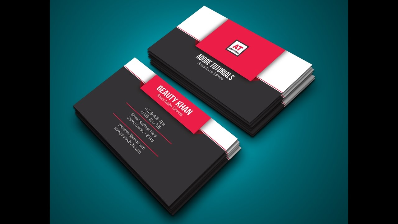 How To Design Business Card In Adobe Illustrator Cc