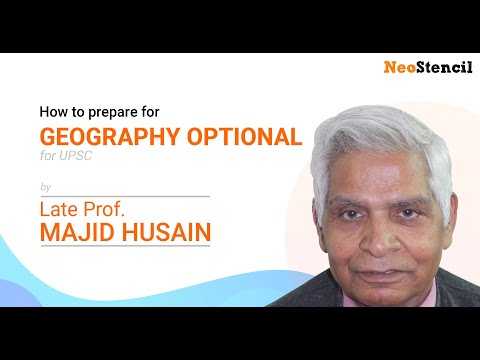 How to prepare for Geography Optional for UPSC by Mr. Majid Hussain | Pragati IAS