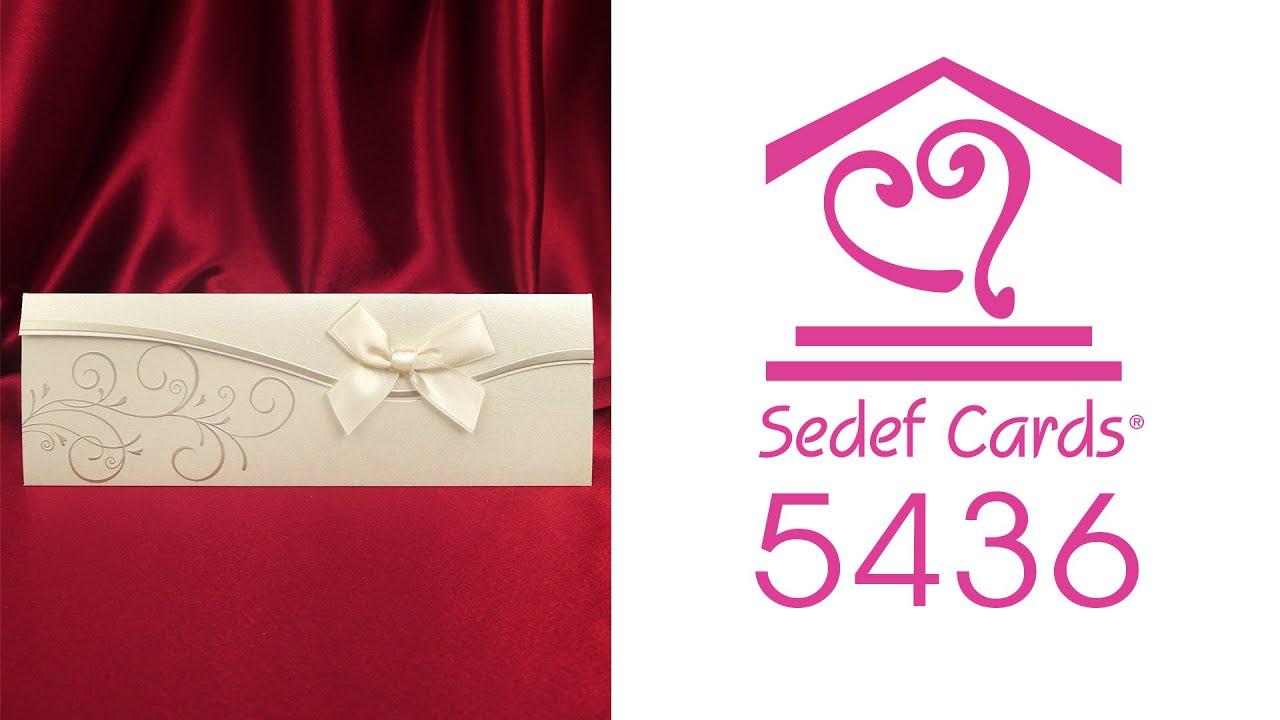 Sedef Cards © | 5436 | Concept Collection | Düğün Davetiyeleri | Wedding  Invitation - YouTube