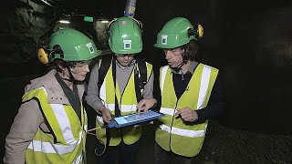 Nuclear inspection: 3D scanner for easier checks at underground site
