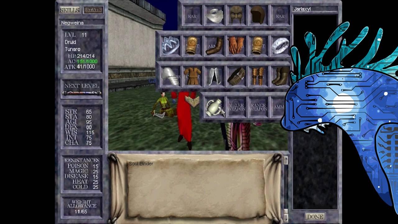 EverQuest Old UI 1999-2002 More In-Depth