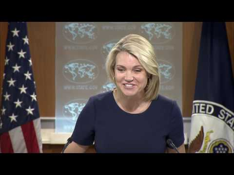 Department Press Briefing - June 8, 2017
