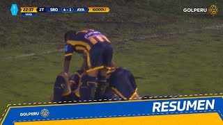 Resumen - Sport Rosario vs Ayacucho FC (5-1)