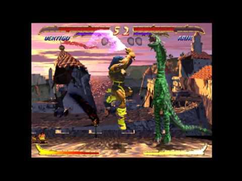 (MAME MNG) Primal Rage 2 (Still Brute-Forced) - 1 Match With Vertigo