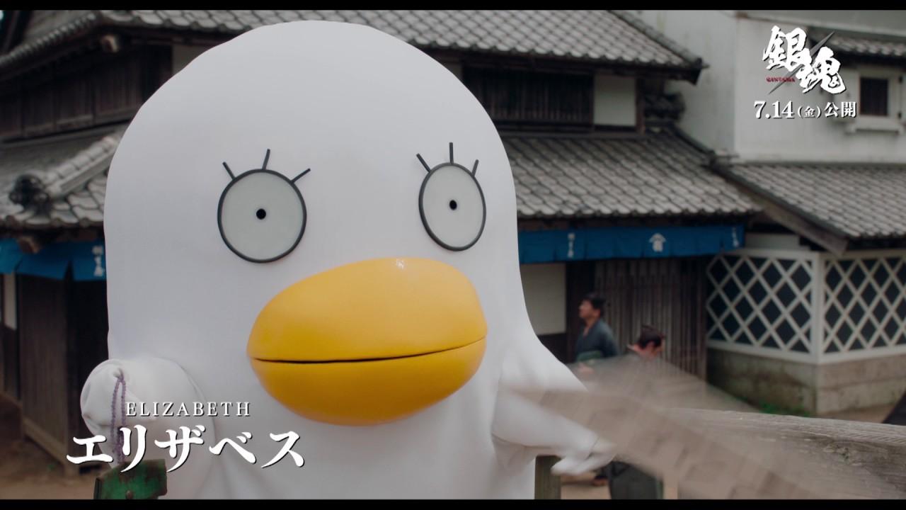 映画『銀魂』キャラ動画(エリザベス)【HD】2017年7月14日(金)公開