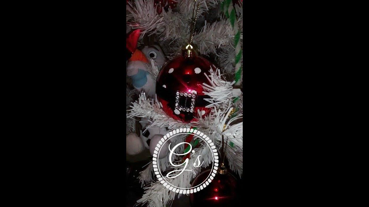 DIY tutorial Handmade Christmas 2015 Tree ornaments - YouTube