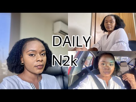 WORKING IN LAGOS AS A RECENT GRADUATE | COME WITH ME TO WORK FOR MY DAILY N2K
