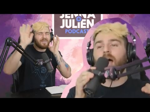 Julien Singing Off Key With The Actual Songs in The Background (J&J Podcast) - edit