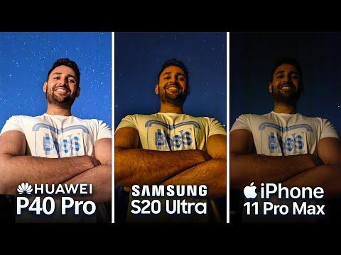 Huawei P40 Pro vs Samsung S20 Ultra vs iPhone 11 Pro Max Camera Test Comparison!