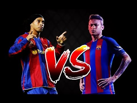 Neymar Jr Vs Ronaldinho Gaúcho - Skills & Goals Battle | HD