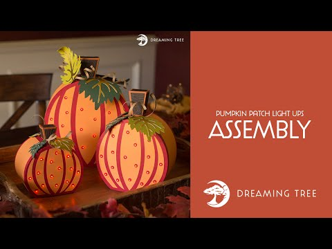 SVG File - Pumpkin Patch Light Ups - Assembly Tutorial