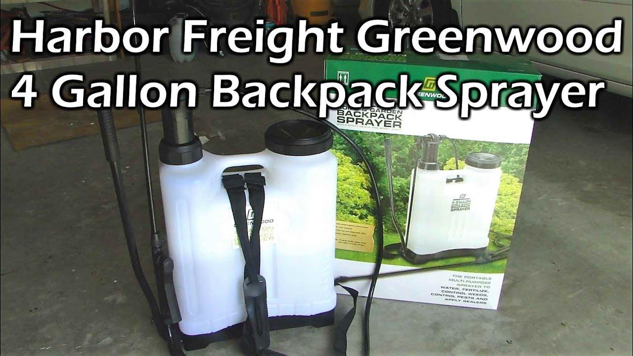 4 gal  Backpack Sprayer