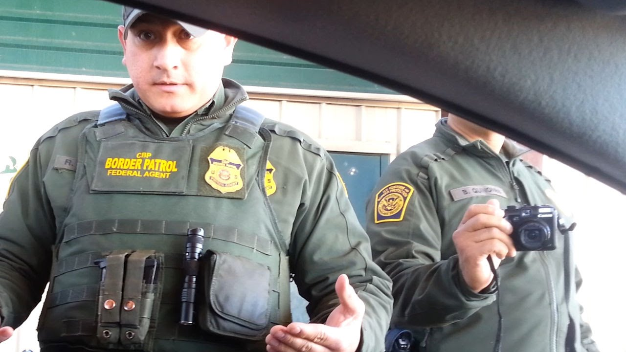 Talk Host Refuses Border Patrol Citizenship Question