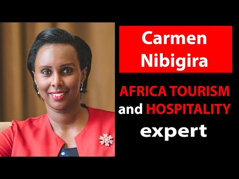 Carmen Nibigira, Awarded and specialist of African tourism and hospitality
