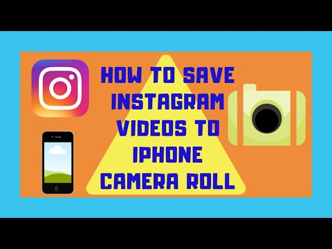 download ig videos to camera roll