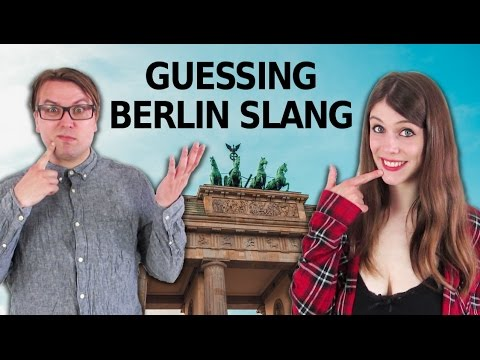 BERLIN DIALECT Slang Word Challenge  with Erick