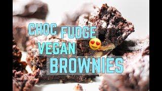 Choc Fudge Vegan Brownie