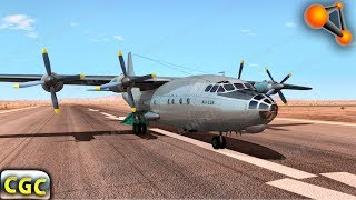 Dropping Cars from the Plane (Aircarft) BeamNG Drive
