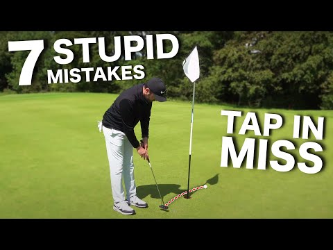 7 STUPID putting MISTAKES most golfers make!