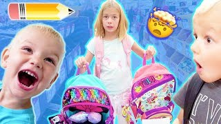 WHICH ONE?| Back To School BACKPACK Shopping for 6 KIDS!!