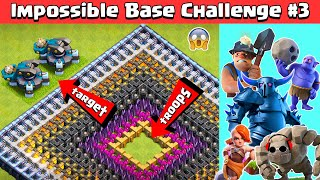 Download lagu Impossible Base Challenge #3 with SCATTERSHOT | Clash of Clans