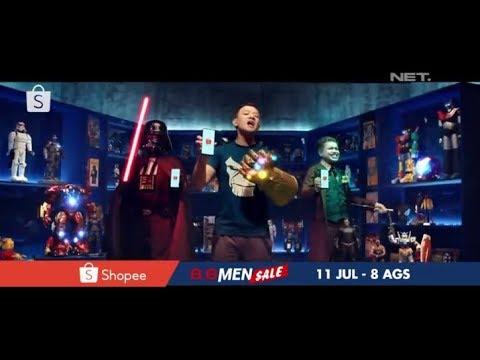 Iklan Shopee Indonesia - Shopee 8.8 Men Sale Jingle 15sec (2019)