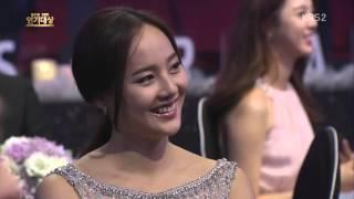 20151231 KimSooHyun 金秀賢KBS演技大賞頒獎典禮 最佳cp獎片段