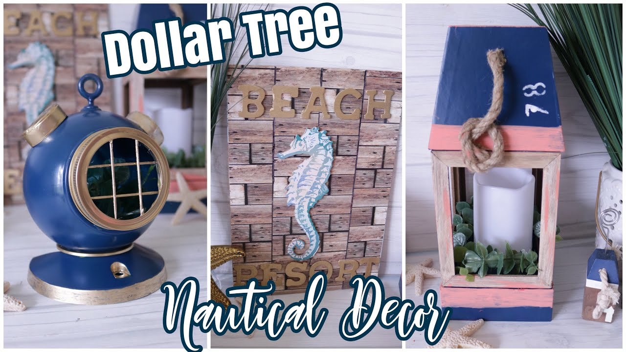 Dollar Tree Diy Nautical Decor Beach Decor