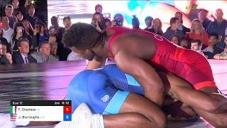 2018 Beat The Streets/Super Matches 74 RR Rnd 1 - Frank Chamizo (ITA) Vs. Jordan Burroughs (USA).m
